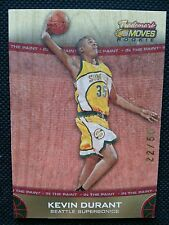 KEVIN DURANT 2007-08 TOPPS TRADEMARK MOVES WOOD GOLD ROOKIE RC #22/50 NON-AUTO!