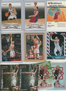 BLAKE GRIFFIN LOT (126) DIFFERENT W/ 4 09-10 ROOKIES 63 INSERTS PRIZM CAMO