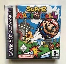 Super Mario Ball (Nintendo Game Boy Advance) Red-Strip Factory Sealed PAL GBA