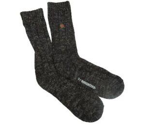Birkenstock Sydney Cotton Socks Blue White Brown Grey S M L Cozy Comfy Supportiv