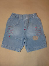 Short en jean pour bébé garçon taille 12 mois