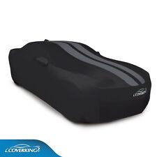 COVERKING Satin Stretch™ indoor Car Cover, Black w/Gray stripes 2010-2015 Camaro