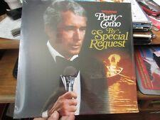 SEALED Vintage PERRY COMO Sylvania Presents By Special Request LP 1976 POP VOCAL