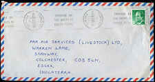Spain 1989 Commercial Airmail Cover To England #C30414