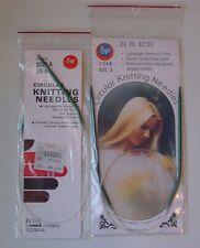 lot 2 Original Packages Circular Knitting Needles Boye Size 3 4