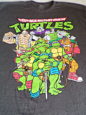 Teenage Mutant Ninja Turtles TMNT Men's t-Shirt XXL Gray 2XL Nickelodeon TV