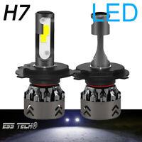 Ampoule H7 LED Blanc 8000K COB lampe ESS TECH® Mise a jour feu LED Auto Moto