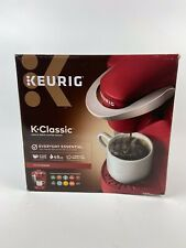 Keurig K Classic K-Cup Machine Coffee Maker Brewing System RED