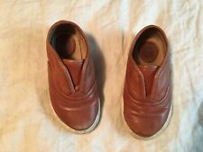 Frye Chambers shoes toddler boy girl leather distressed size 7