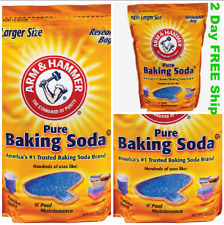 Pure Baking Soda Bag Arm & Hammer (13.5 lb) Odor Reducer Pool Laundry Clean Bake