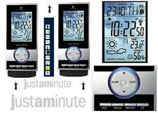 LOWELL JD9502 STAZIONE METEOOROLOGICA e BAROMETRICA RADIOCONTROLLATA LCD LED BLU