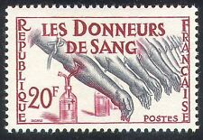 France 1959 Blood Donation/Medical/Health 1v (n25708)
