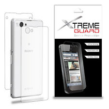 XtremeGuard FULL BODY Screen Protector Shield For Sony Xperia Z1 Compact (Clear)