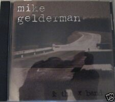 Mike Gelderman & the X Band, Music LN CD Disk with all Artwork, in Jewel Case