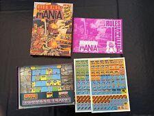 2000AD Mega Mania Board Game - Games Workshop - Judge Dredd - Un-punched Pieces