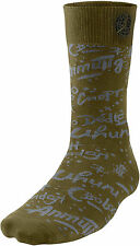 JORDAN Retro 9 Worldwide Socks sz L Large (8-12) Militia Green Gray Black IX