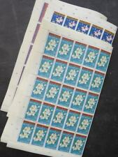 EDW1949SELL : INDONESIA 1962 Scott #B146-49 Orchids 100 sets VF MNH Catalog $160