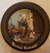 "Norman Rockwell ""The Cobbler"" Centennial Collection - Framed In Wood"