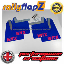 Mudflaps SUBARU IMPREZA New Age (01-07) rallyflapZ 4mm PVC Blue WRX style Pink