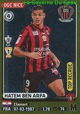 336 HATEM BEN ARFA # TOP RECRUE OGC.NICE Newcastle STICKER PANINI FOOT 2016
