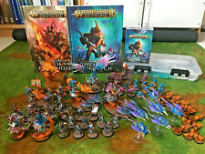 Warhammer Age of Sigmar Painted Disciples of Tzeentch Army