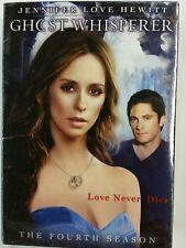 Ghost Whisperer: The Fourth Season (DVD, 2009, 6-Disc Set) New