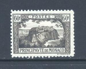 Monaco 1922 SG 59 The Rock with  Railway Tracks  MH