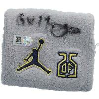 Dexter Fowler St. Louis Cardinals Signed GU Gray, Navy, Yellow Wristband & Insc