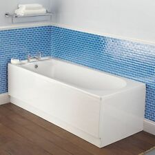 Supastyle Bathroom White Acrylic 1700mm x 510mm Standard Bath Front Side Panel