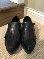 Tibi Petra Leather Oxford, 38.5 US 7.5