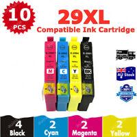 10x Non-OEM 29xl Ink Cartridges for Epson expression xp432 xp435 xp245 xp442