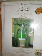 STYLEMASTER Drapes Pinch Pleated  48 x 84 Green
