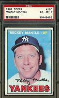 1967 Topps #200 Mickey Mantle - HOF - Yankees - PSA 6 - ExMT - 30449459  - (SCA)