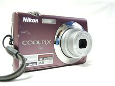 Nikon COOLPIX S220 10.0MP Digital Camera 3x Zoom - PURPLE