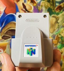 Official Genuine OEM Authentic Nintendo 64 N64 Rumble Pak Tremor Pack NUS-013