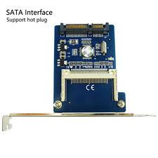 CF to SATA 22 Pin Adapter Compact Flash Type I/II SATA SSD HDD Converter Card