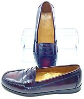 Cole Haan Pinch Penny Loafer Men's 7D Burgundy Leather Slip On Dress Shoes 03504