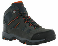 Hi-Tec Waterproof Bandera II Leather Lace Walking Hiking Trail Mens Boots Wide