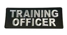 Training Officer Name Saying Iron On Cosplay Biker Patch