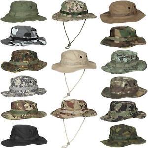 MFH US GI Military Boonie Bush Jungle Hat Army Combat 100% Cotton Ripstop