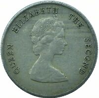 East Caribbean States 2004-10 Cents Copper-Nickel Coin Elizabeth II