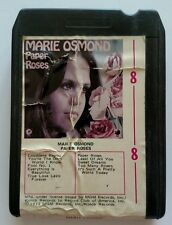 Marie Osmond 8 track Paper Roses