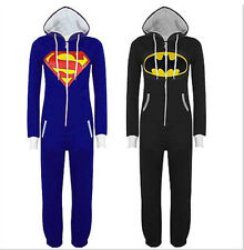 Adult Batman Superman Onesie1 Kigurumi Pajamas Sleepwear Unisex Onesies1 Costume