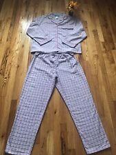 Women's 2 Piece Cotton Pajamas size Large