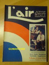 Revue L'Air n°283 15 août 1931