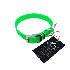 Biothane Collar for Dogs IN 25 MM - Dog Collar - all Sizes! Neon-Green