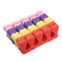 Set of 200 Foam Finger Toe Separator Manicure Pedicure Salon Nail Polish Tools