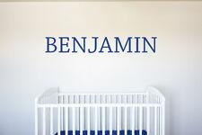 Custom Name Vinyl Decal Wall Art Decor for Nursery Children Boys Baby Room v2