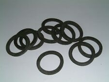 8mm ID 28.58mm OD Seal Dampener Pack of 25 Black TPR Rubber Washers