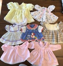 Lot of 7 Vintage Cabbage Patch Kids Dresses CLEAN (CP6)